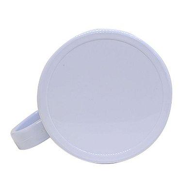 Caneca de Plástico para Sublimação Branca (Mod 3)