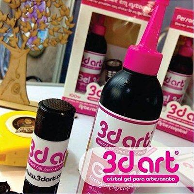 Kit 3D Art Gel para Artesanato