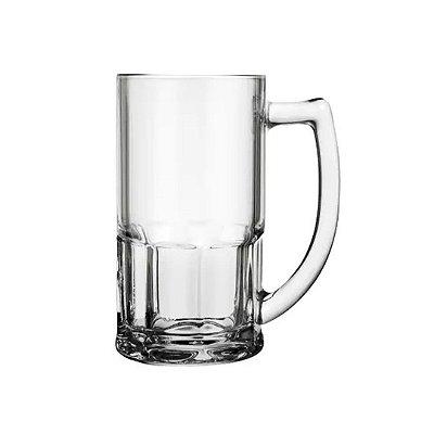Caneca de Chopp Vidro 340 ml Transparente