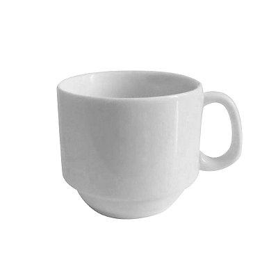 Xícara de Porcelana 200 ml Branca para Sublimação