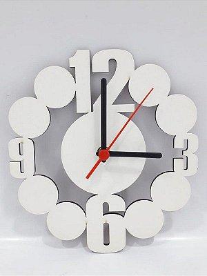 Relógio Artístico de MDF para Sublimação 3mm