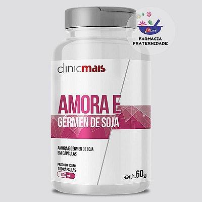 Amora e Germe de Soja 600 mg 100 Cápsulas