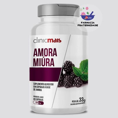 Amora Miura 550 mg 60 Cápsulas