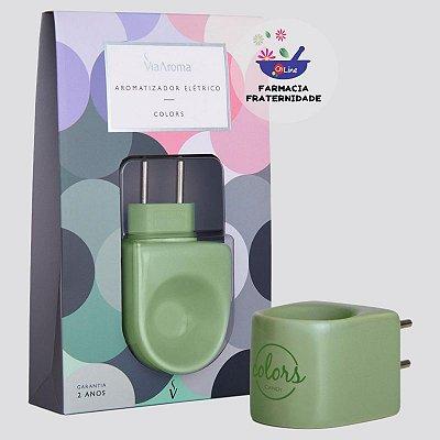 Aromatizador Porcelana Colors Verde
