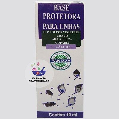 Base Protetora para Unhas com Óleos Vegetais 10 ml