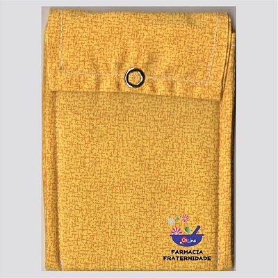 Bolsinha Térmica Amarela Desi