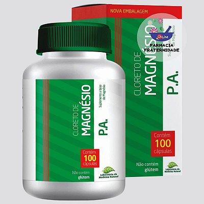 Cloreto de Magnésio 500 mg 100 Cápsulas