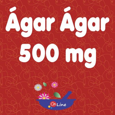 Ágar-Ágar 500 mg