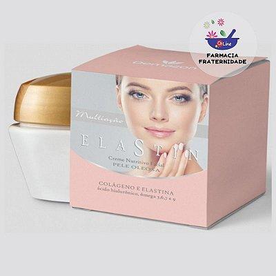 Creme Nutritivo Facial Elastin Pele Oleosa 75 g