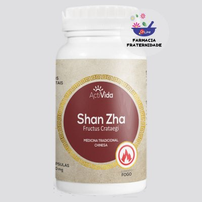 Crataegus (Shan Zha) 400 mg 60 Cápsulas