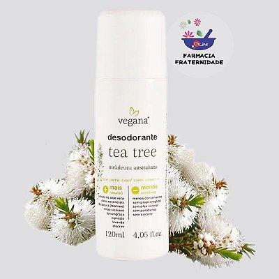 Desodorante Tea Tree (Melaleuca) 120 ml