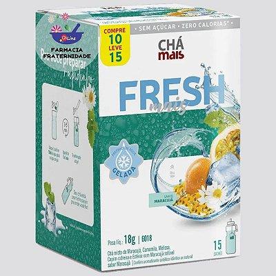 Chá Gelado Misto Fresh Mais Maracujá 15 Sachês