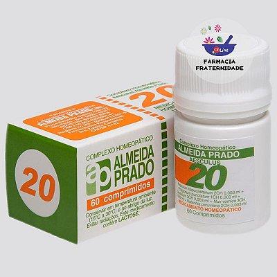 Complexo Homeopático Aesculus nº 20