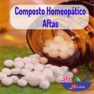 Composto Homeopático Aftas 24g