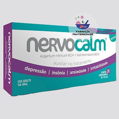 Nervocalm 250 mg 20 comprimidos