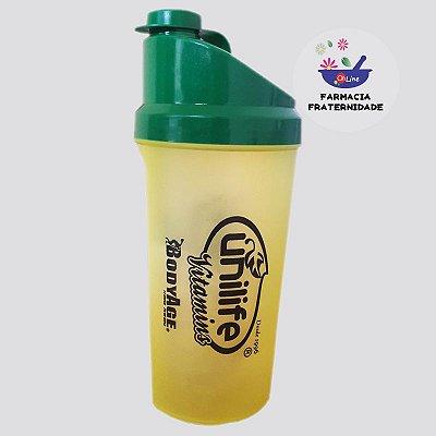 Coqueteleira 700 ml Verde limão Unilife
