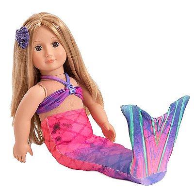 Cauda para bonecas  Aurora Boreal