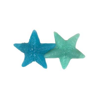 Presilha Estrelas Azul e Turquesa