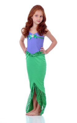Fantasia Ariel Vestido Infantil - Disney