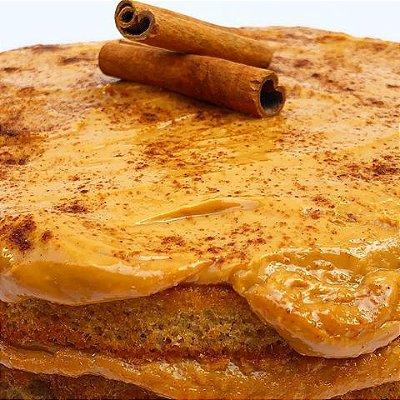 Torta de Churros Fit Congelada | 1,2kg | 22 cm de diâmetro