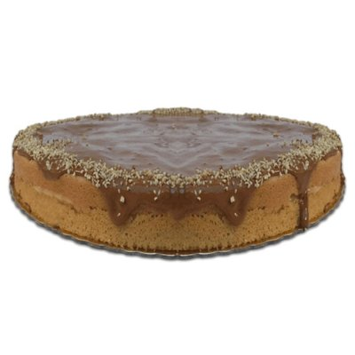 Torta de Baunilha FIT Congelada | 1,2kg | 22 cm de diâmetro