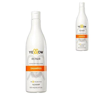 Shampoo Reparador Cabelos Danificados Resistência Brilho
