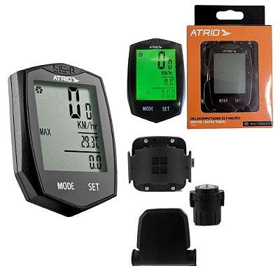 Odômetro Velocímetro para Bicicleta com Botão Touch - Wireless Sem Fio e Luz Led