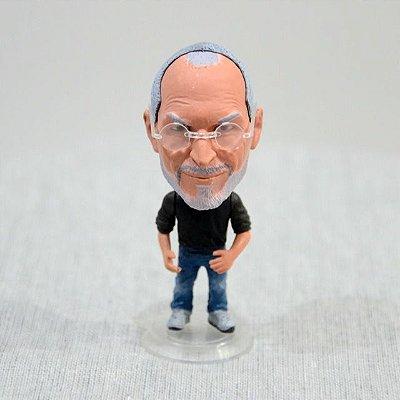 Boneco Personagem Steve Jobs Apple Coleção Miniatura
