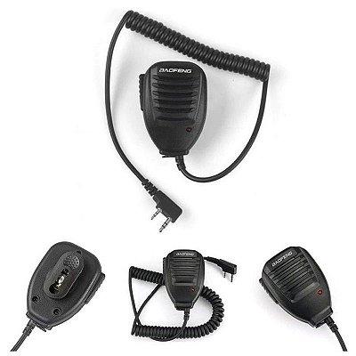 Fone Baofeng Rádio Comunicador Walkie Talkie 2 Pino