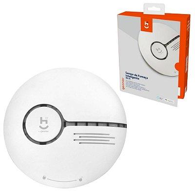 Sensor Detector Inteligente Sem Fio Fumaça Notificação Voz