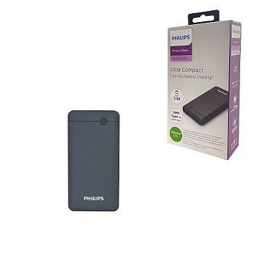 Carregador Portátil Power Bank 10.000 Mah Até 3 cargas 2 USB