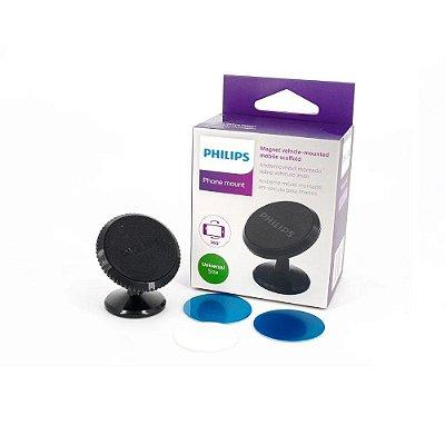 Suporte Celular Painel Veicular Magnético Fixação Forte 360º
