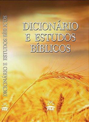 Dicionário de Estudos Bíblicos