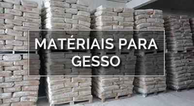 Materiais para Gesso