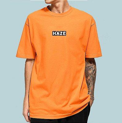 Camiseta Haze Wear Real LOGO Laranja