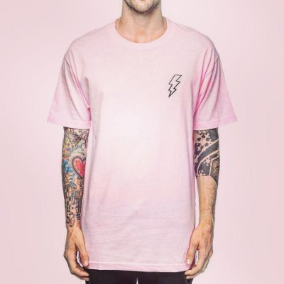 Camiseta Haze Wear Classic Bolt Rosa
