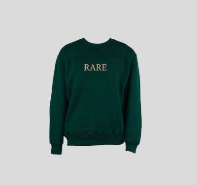 Moletom HAZE wear x RARE Logo