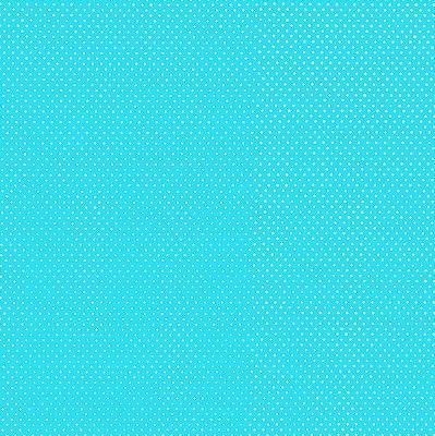Tecido Tricoline Micro Poá Azul Tifany 3131-14