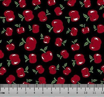 Tecido Tricoline Mini Cerejinha 5003