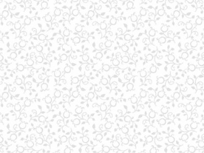 Tecido Tricoline Mini Tulipa Cinza Clarinho com Fundo Branco 5153G-2