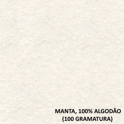 Manta 100% Algodão Âmbar V2166