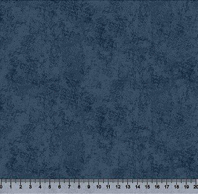 Tecido Tricoline Textura Camurça Azul Marinho 5420-06