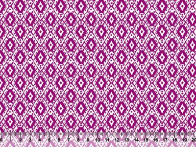 Tecido tricoline losango étnico