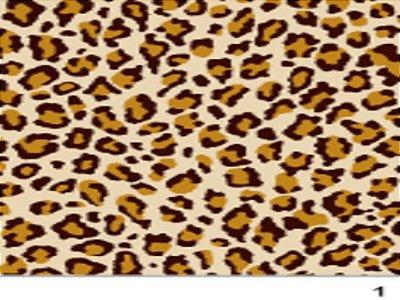 Tecido tricoline onça animal print
