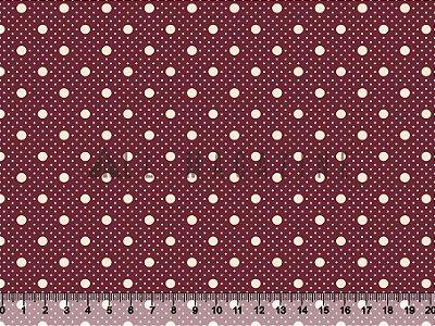 Tecido tricoline Poá Mini e médio