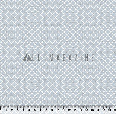 Tecido tricoline Geométrico Marroquino