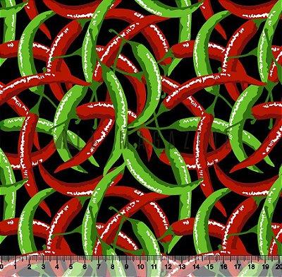 Tecido Tricoline Pimentas