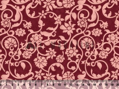 Tecido tricoline Arabesco Floral Vintage