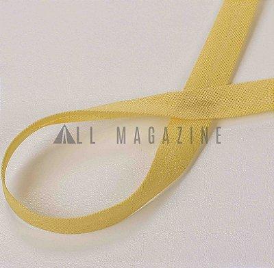 Viés 100% Algodão A9000 - 35mm - 20m - Cor 47 amarelo