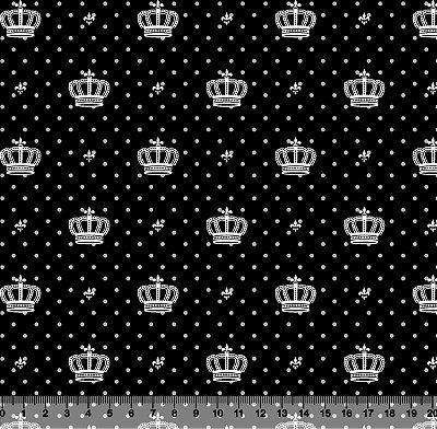 Tecido Tricoline Coroa Poá 2517